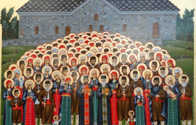 Баташките мъченици са канонизирани за светци